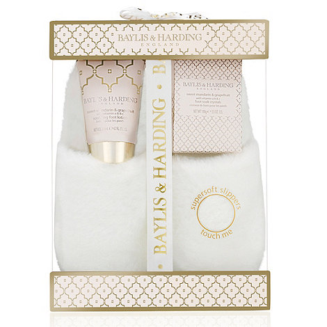 Baylis & Harding - +Sweet Mandarin And Grapefruit+ slipper gift set