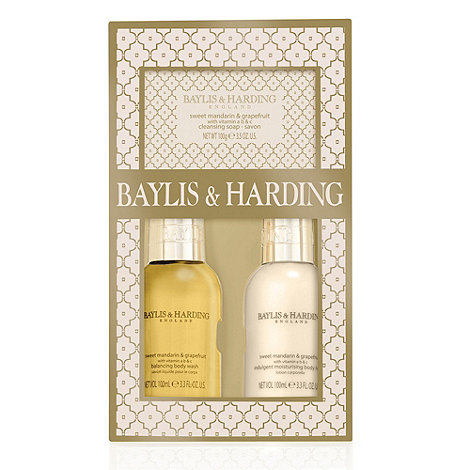 Baylis & Harding - +Sweet Mandarin And Grapefruit+ trio gift set