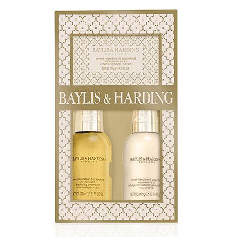 Baylis & Harding - Sweet Mandarin & Grapefruit Trio Gift Set