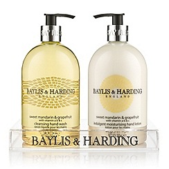 Baylis & Harding - Sweet Mandarin & Grapefruit Hand Wash & Lotion Gift Set