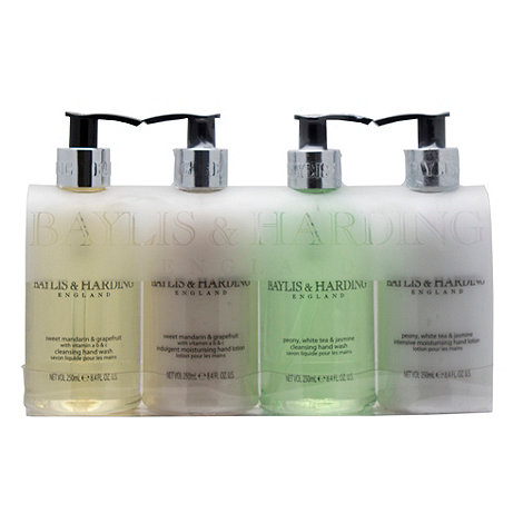 Baylis & Harding - +Sweet Mandarin And Grapefruit+ 4 piece gift set