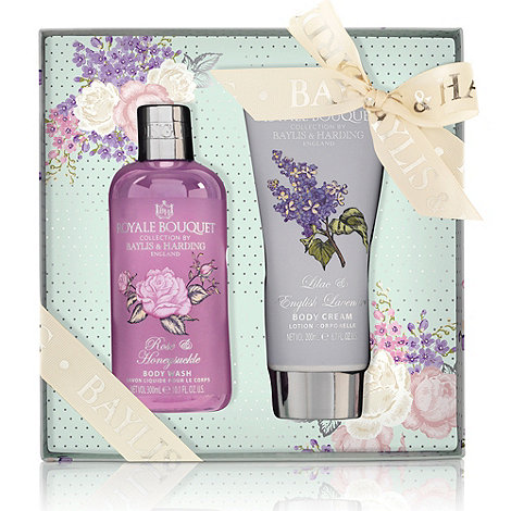 Baylis & Harding - Royale Bouquet Classic Collection - Assorted Fragrance Body Duo Gift Set