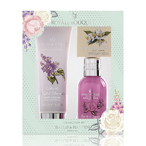 Baylis & Harding - Royale Bouquet Classic Collection - Assorted Fragrance Bath Crème & Lotion Gift Set