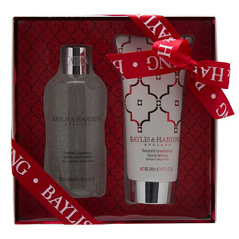 Baylis & Harding - Limited edition +Frosted Cranberry+ 2 piece gift set