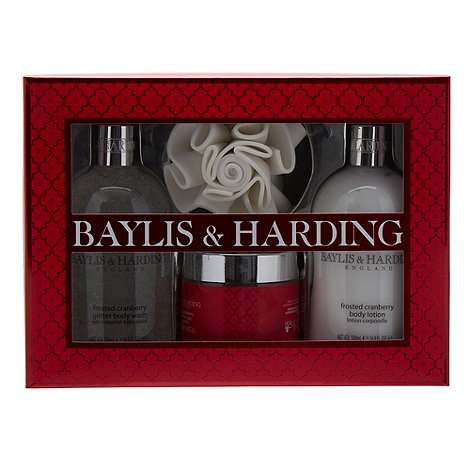 Baylis & Harding - Frosted Cranberry Benefit Gift Set
