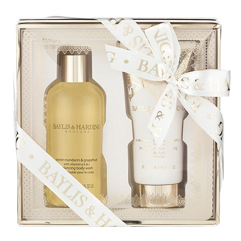 Baylis & Harding - Sweet mandarin and grapefruit 2 piece gift set