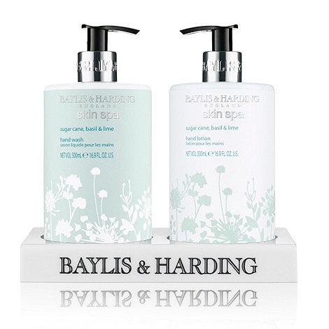 Baylis & Harding - Skin Spa Sugar Cane, Basil & Lime Hand Duo Gift Set