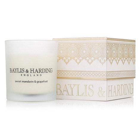 Baylis & Harding - Sweet Mandarin & Grapefruit Single Wick Candle