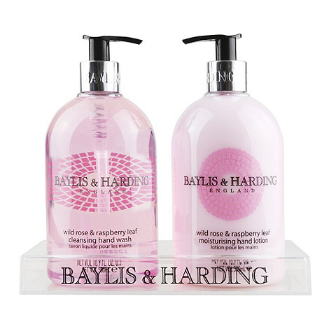 Baylis & Harding - Wild Rose & Raspberry 2 Bottle Gift Set
