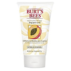 Burt's bees - 'Peach and Willow Bark' scrub 110g