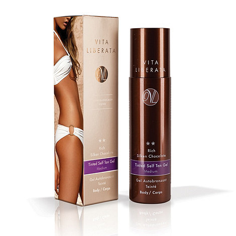 Vita Liberata - Rich silken chocolate tinted self tan gel 200ml