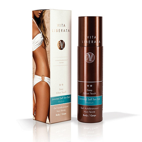 Vita Liberata - Deep silken touch untinted self tan gel 200ml