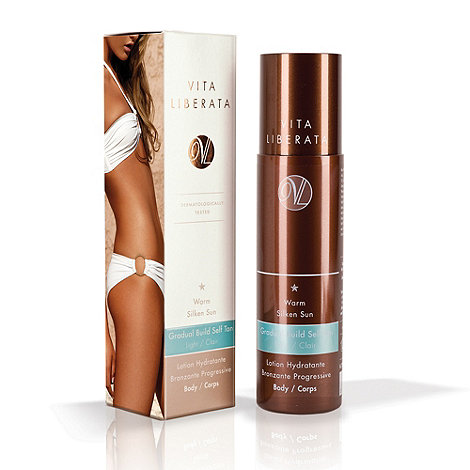 Vita Liberata - +Warm Silken Sun+ gradual build self tan 200ml