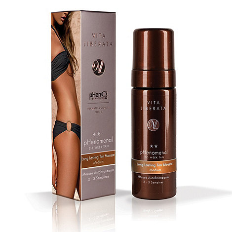 Vita Liberata - +Phenomenal+ 2 to 3 weeks tanning mousse medium 125ml
