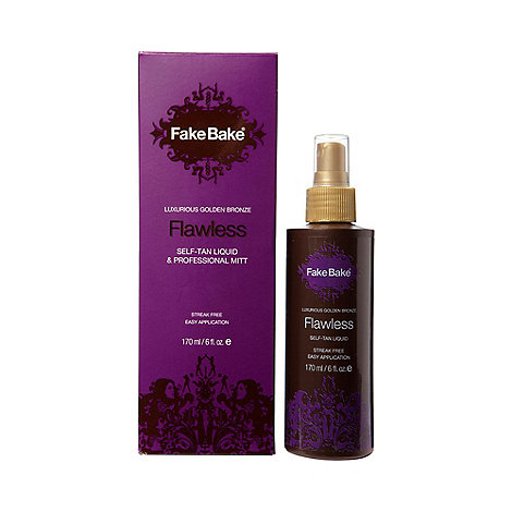 Fake Bake - Flawless self-tan liquid & professional mitt 170ml