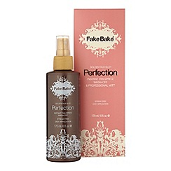 Fake Bake - Perfection instant tan liquid & mitt