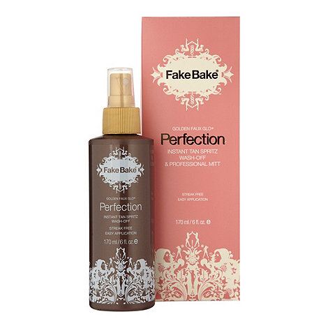 Fake Bake - Perfection instant tan liquid and mitt 170ml