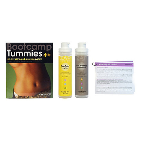 Mama Mio - +Bootcamp For Tummies+ skincare and exercise gift set