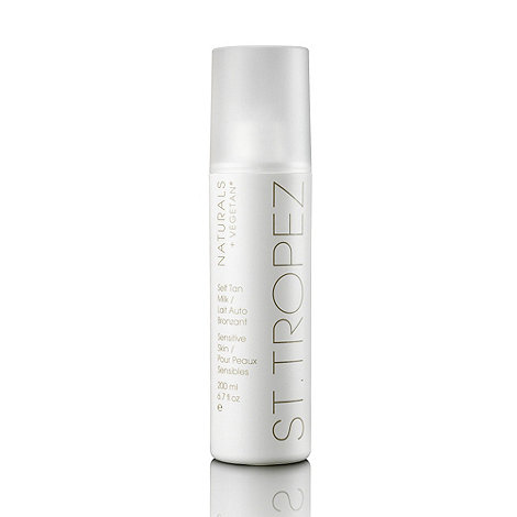 St Tropez - Naturals Self Tan Milk 200ml