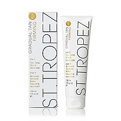 St Tropez - 'Gradual Tan Plus' firming 4 in 1 lotion 150ml