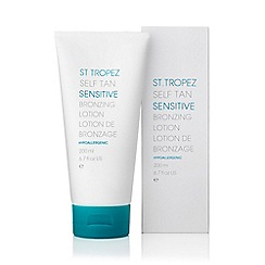 St Tropez - 'Self Tan Sensitive' bronzing body lotion 200ml