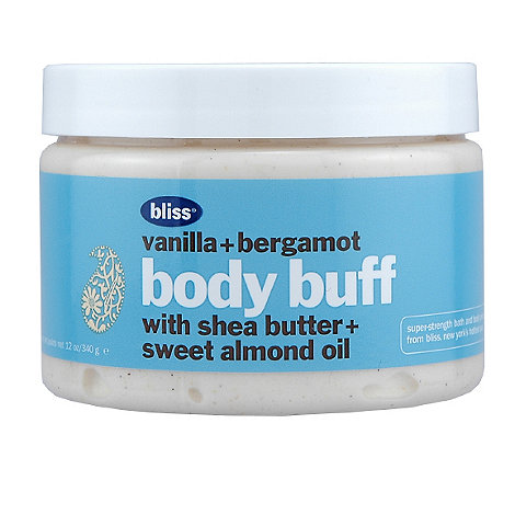 Bliss - Vanilla and bergamot body buff