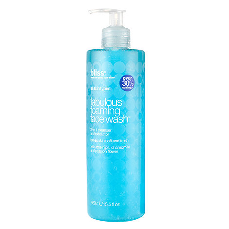Bliss - +Fabulous+ foaming face wash 460ml