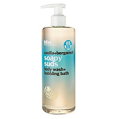 Bliss - Vanilla and bergamot soapy suds 473.2ml
