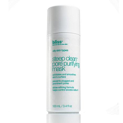 Bliss - Steep clean 15 minute facial mask 100ml