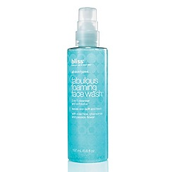 Bliss - Fabulous foaming face wash 200ml