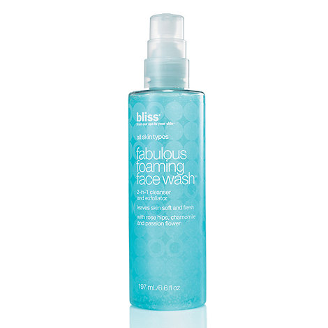 Bliss - +Fabulous+ foaming face wash 197ml