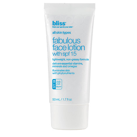 Bliss - +Fabulous+ SPF 15 face lotion 50ml