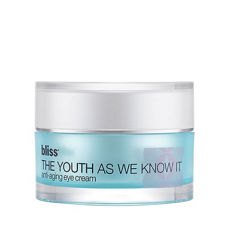 Bliss - +The Youth As We Know It+ eye cream 15ml