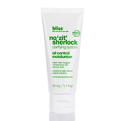 Bliss - No Zit Sherlock Oil Control Moisturiser 1.7 oz