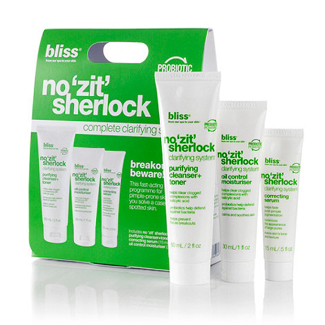 Bliss - +No +Zit+ Sherlock+ acne gift set