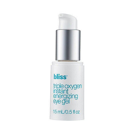 Bliss - triple oxygen instant energizing eye gel