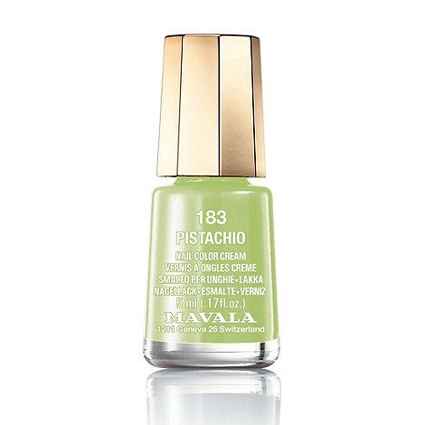 Mavala - Mini colour pistachio nail polish