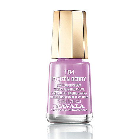 Mavala - Mini colour frozen berry nail polish