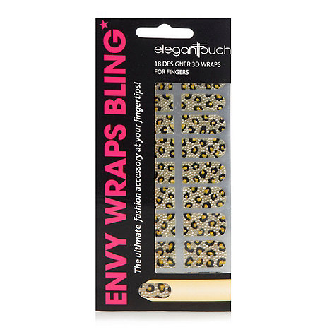 Eylure - +Envy Wraps Bling+ 3D 18 designer nail wraps