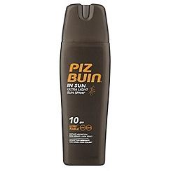 Piz Buin - 200ml In Sun Spray SPF10
