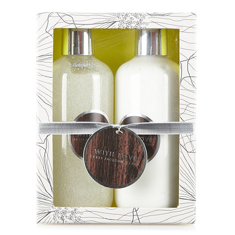 Betty Jackson.Black - Designer +With Love+ pamper duo gift set