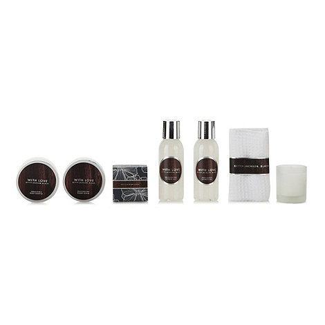 Betty Jackson.Black - Designer +With Love+ pamper gift set