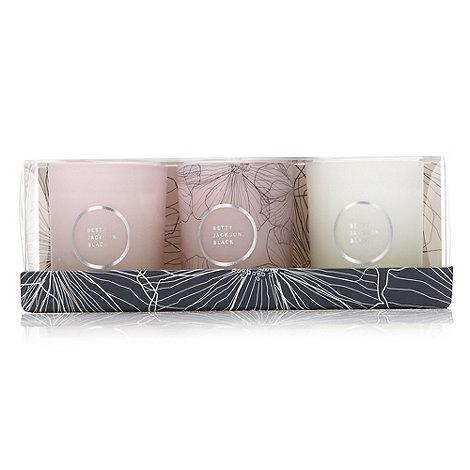 Betty Jackson.Black - Indulgence candle collection git set