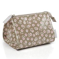 Victoria Green - Debenhams Exclusive: Daisy Print Make Up Bag