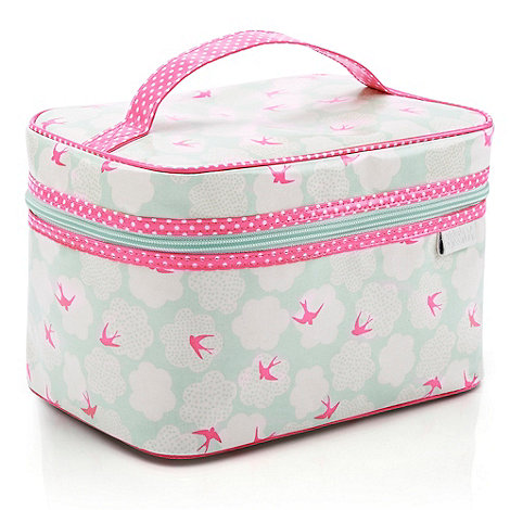 Victoria Green - Debenhams Exclusive: Swallows Print Vanity Case
