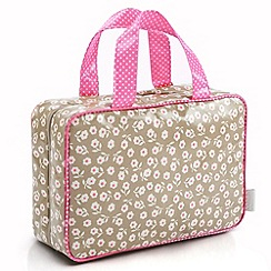 Victoria Green - Debenhams Exclusive: Daisy Print Essential Hanging Bag