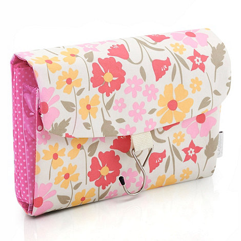 Victoria Green - Summer meadow print cosmetics bag