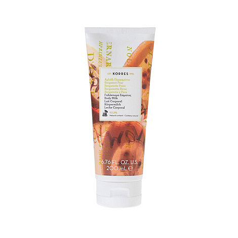 Korres - Bergamot Pear Body Milk 200ml
