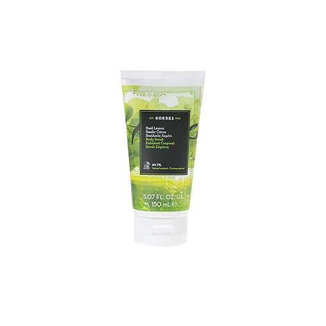 Korres - +Basil Lemon+ body scrub 150ml