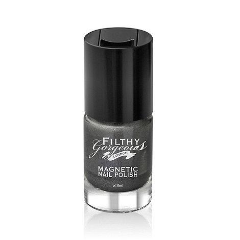 Filthy Gorgeous - Nail Polish- Heavy Metal - Magnetic Metallic Liquid Pewter